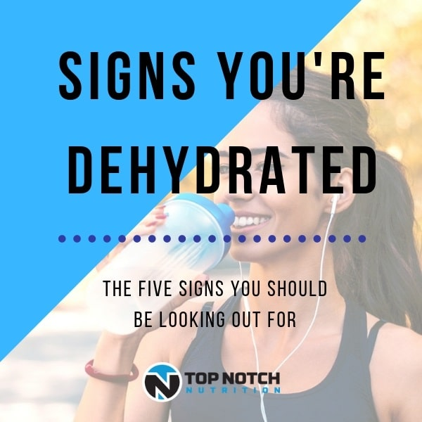 Signs You're Dehydrated