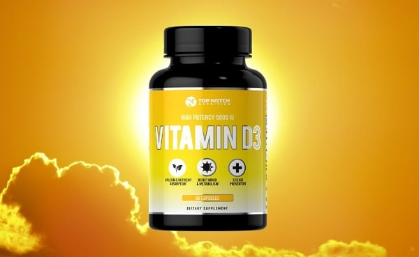 Top Notch Nutrition Vitamin D3